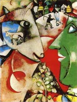 Chagall for Chagall tableau